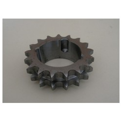 Hærdet kædehjul, 19 tænder duplex