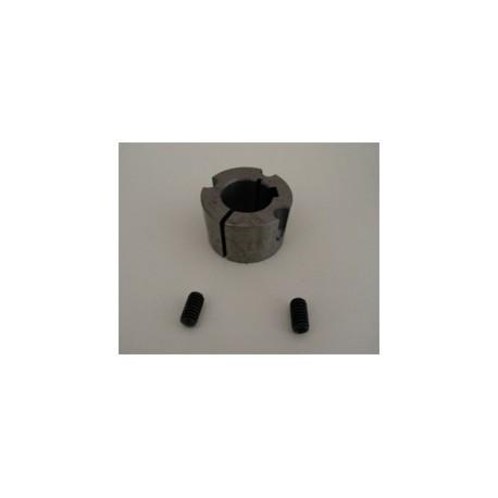 Taperlock for motoraksel