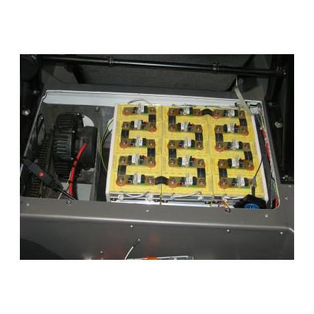 Eftersyn lithiumakkumulator