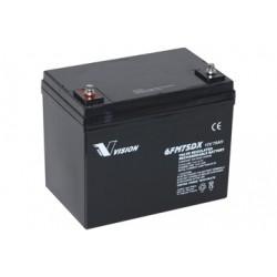 AGM-akkumulator 12 V / 75 Ah